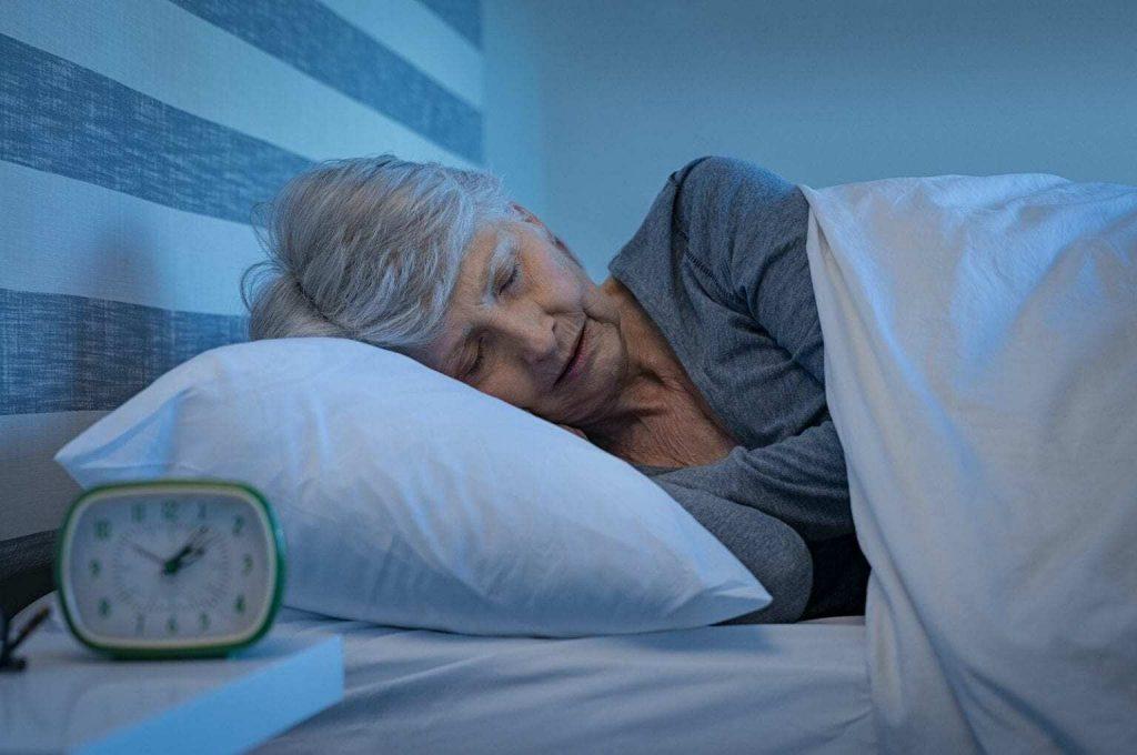 Australian senior sleeping_senior choices online